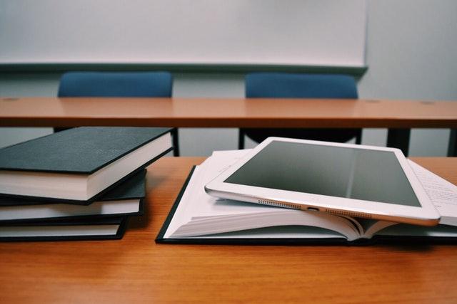 Classroom Desk Tablet